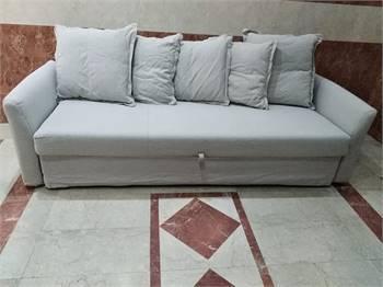 Ikea grey sofa bed
