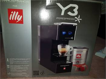 Illy Coffee Machine Italy brand