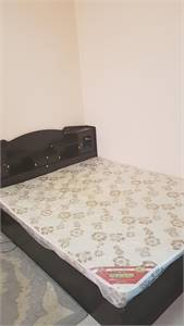 Queen size bed with brand new medical mattress