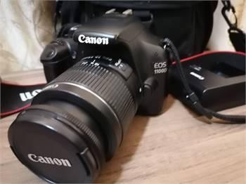 1100d canon dslr with lens 18-55mm