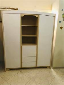 Selling Wardrobe With Door With Shelf And Drawers