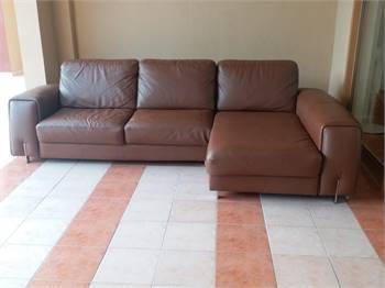 Granfort sofa L shape sofa cum bed have storage