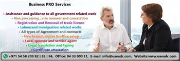 New Company Registrations,Translation & attestation, visa services