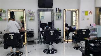 Running Gents Saloon Available