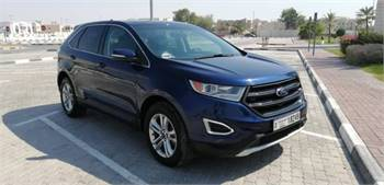 Ford Edge Blue With Panoramic Ceiling