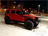 Jeep Wrangler Fully Modified